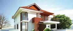 风水师指导设计的农村别墅,户型方正,照图纸35万回家建一套?