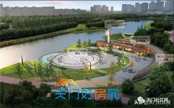 重磅!天门印水湖公园已基本建成!天门城南居民有福啦!